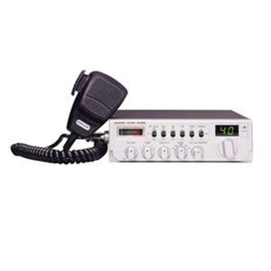 SUPER STAR 2400 The Super Star 2400 is a combination transmitter-receiver designed primarily for mobile use, มดดำ , วิทยุสื่อสารประจำเรือ , CB Radio,
