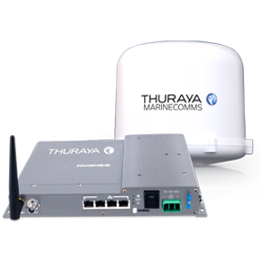Thuraya Orion IP is a maritime-specific broadband terminal manufactured by Hughes Network Systems which supports broadband data communications at speeds..